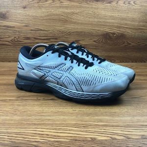 Asics GEL-Kayano 25 Silver Athletic Running Shoes